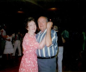 When my parents were on the dance floor, they always looked as they were in the flow of the Divine.  I see them now in spirit ~ assisting all to dance with the Divine.